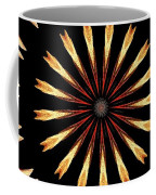 Orchid Kaleidoscope 3 Coffee Mug
