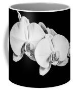 Orchid - Bw Coffee Mug