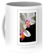 Orchid Spring Poster Coffee Mug