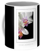 Orchid Underneath Poster Coffee Mug