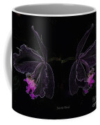 Orchids In Neon Coffee Mug
