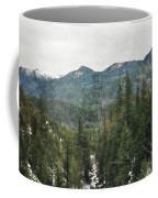 Oregon Cascade Range Coffee Mug
