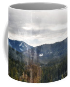 Oregon Cascade Range Landscape Coffee Mug