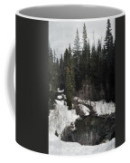 Oregon Cascade Range River Coffee Mug