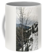 Oregon Cascade Range Trees Coffee Mug