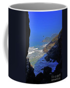 Oregon Coast From Sea Lion Caves Coffee Mug