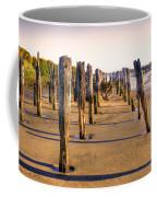 Oregon Coast Pilings Coffee Mug