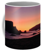 Oregon Coast Silhouette Coffee Mug