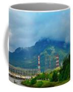 Oregon Columbia River - River View Coffee Mug