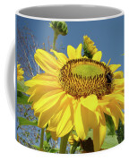 Oregon Gardens Silverton Sunflower Honeybee Baslee  Coffee Mug