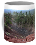 Oregon Landscape - Crater At Lava Butte Coffee Mug