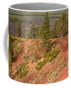 Oregon Landscape - Red Crater Coffee Mug