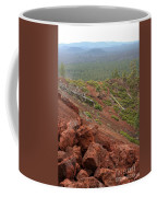Oregon Landscape - Red Rocks At Lava Butte Coffee Mug