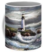 Oregon Lighthouse Beam Of Hope Coffee Mug