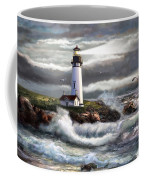 Oregon Lighthouse Beam Of Hope Coffee Mug
