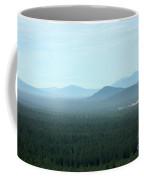 Oregon Misty Mountains Coffee Mug