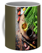 Organic Vegetables And Spices Coffee Mug