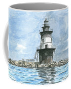 Orient Point Lighthouse Coffee Mug