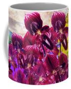 Oriental Orchid Garden Coffee Mug