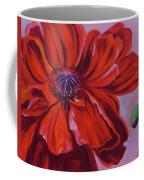 Oriental Poppy With Bud Coffee Mug
