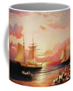 Oriental Sailor Chiefs Gathered For A Meeting On The Shores Of The Black Sea Coffee Mug