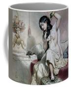 Oriental Woman At Her Toilet Coffee Mug