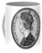 Original Silver Victoria Empress Coffee Mug
