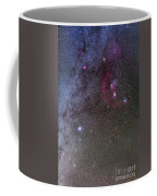 Orion And Canis Major With The Dog Star Coffee Mug