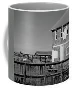 Ormond Yacht Club Black And White Coffee Mug