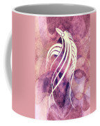 Ornamental Abstract Bird Minimalism Coffee Mug