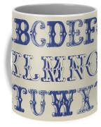 Ornamental Font Coffee Mug