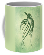 Ornamental Parrot Minimalism Coffee Mug