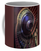 Ornamented Metal Spiral Staircase Coffee Mug