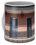 Ornate Balcony In New Orleans Coffee Mug