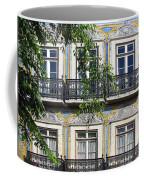 Ornate Building Facade In Lisbon Portugal Coffee Mug
