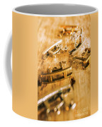 Ornate Rocking Horse Memoirs  Coffee Mug