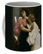 Orpheus And Euridyce Coffee Mug by Frederic Leighton