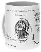 Orrery By Stephen Hales, 1705 Coffee Mug