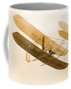 Orville Wright In Wright Flyer 1908 Coffee Mug