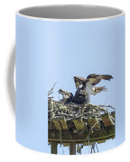 Osprey Family Portrait No. 1 Coffee Mug