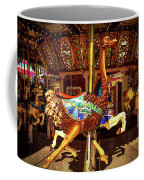 Ostrich Carousel Ride Coffee Mug