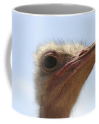 Ostrich Head Close Up Coffee Mug