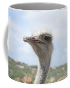 Ostrich Head II Coffee Mug