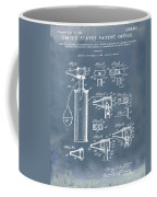 Otoscope Patent 1927 Blue Grunge Coffee Mug