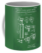 Otoscope Patent 1927 Green Coffee Mug
