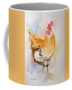 Our Buff Rooster  Coffee Mug