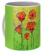 Our Golden Poppies Coffee Mug