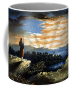 Our Heaven Born Banner Coffee Mug by War Is Hell Store