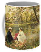 Our Holiday Coffee Mug by Charles James Lewis