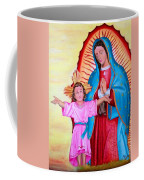 Our Lady Of Guadalupe And Child Coffee Mug